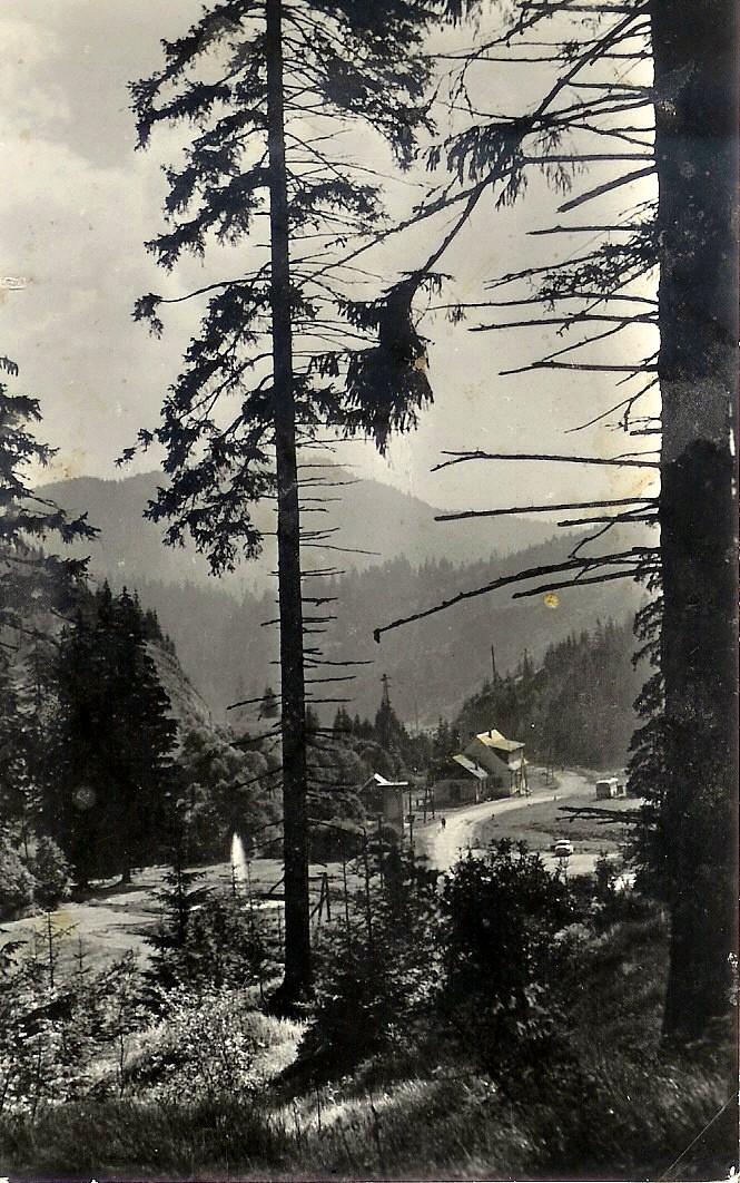 Dobš. ľ. jaskyňa od pána Stehla. Asi okolo r. 1954