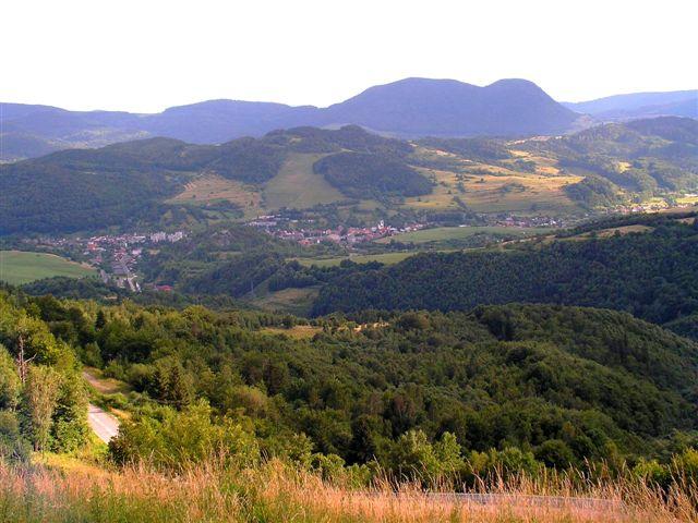 Dobšiná z Dobšinského kopca