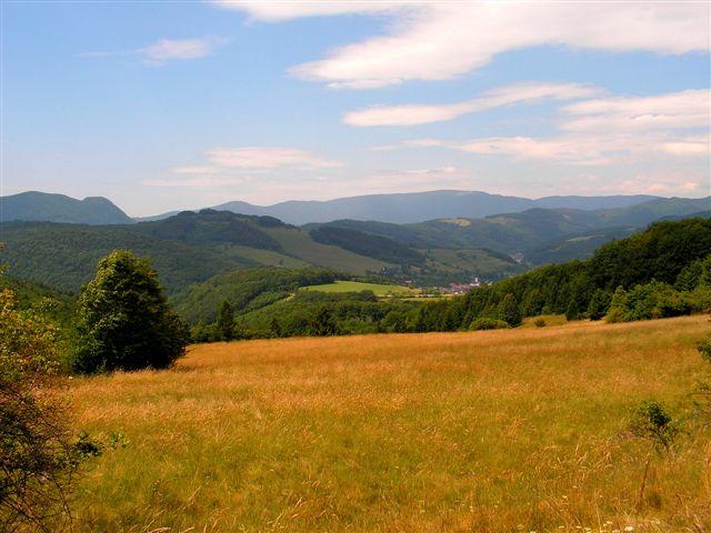Údolie Dobšinej z Fabianky 19 jún 2009