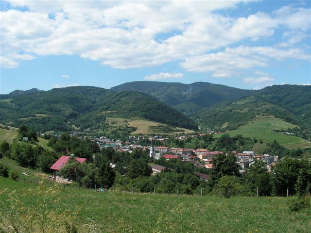 Dobšiná s trojvrším Vincovka, Čierna hora a Štempelšájer