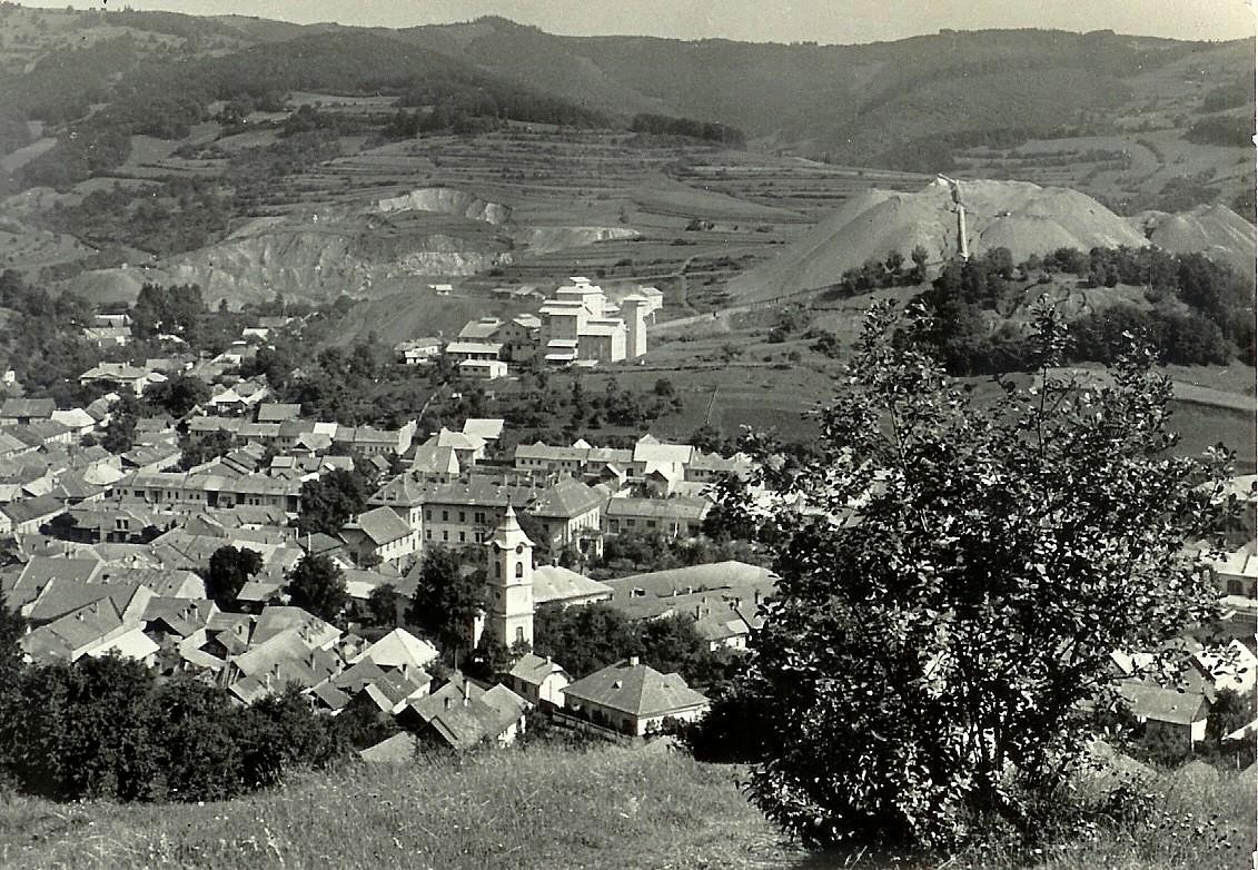 Dobšiná ,Azbest a Štempelšájer,niečo po roku 1950