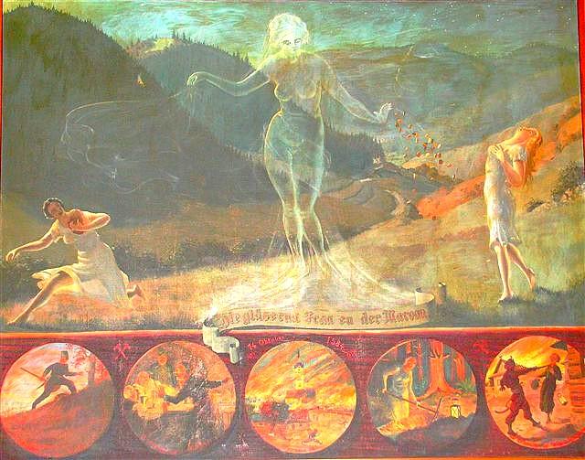 Sklenená pani z Marón