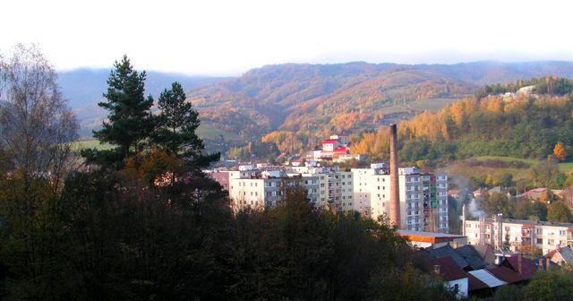 Pohľad na Dobšinú, Azbest a Štempelšájer zo dňa 25.10.09