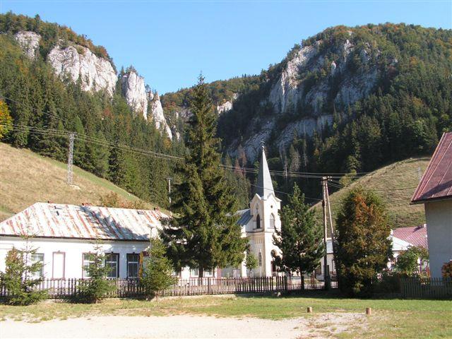 Stratená s kostolíkom pod Marčekovou dňa 23.9.06