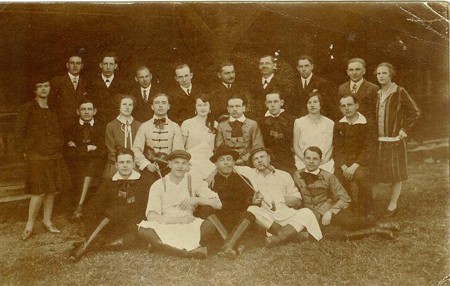 Fotografia z divadelného predstavenia operety v Dobšinej